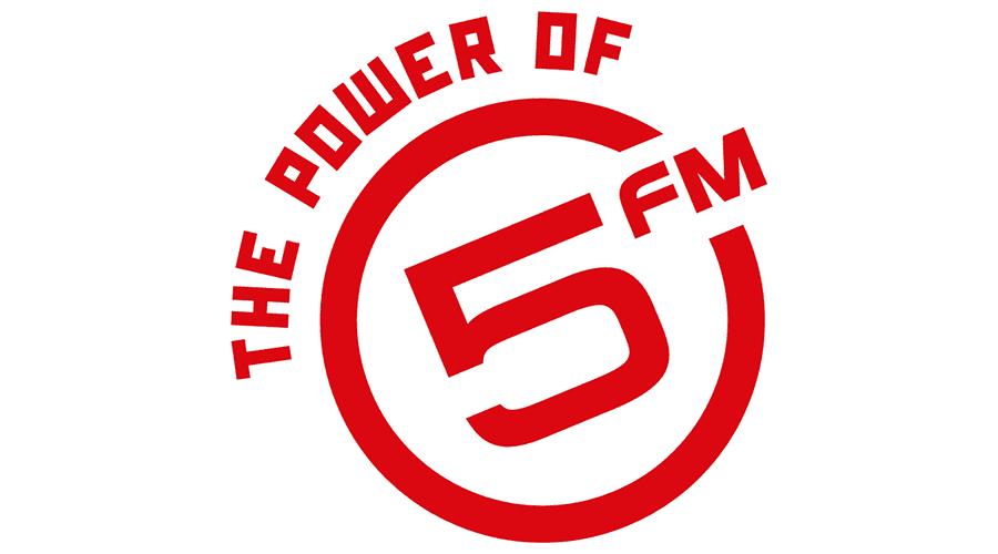 The Power of 5FM Logo Vector