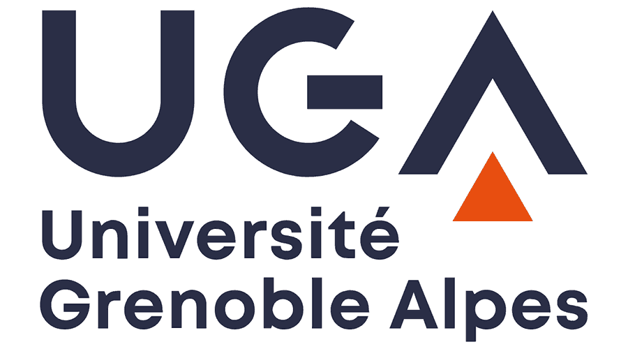 Université Grenoble Alpes (UGA) Logo Vector