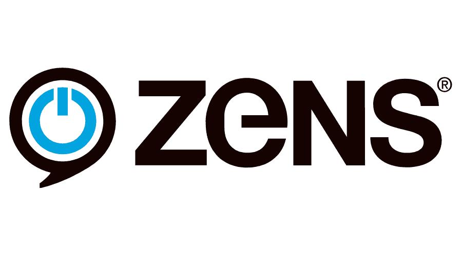 ZENS – Wireless Charging Company Logo Vector