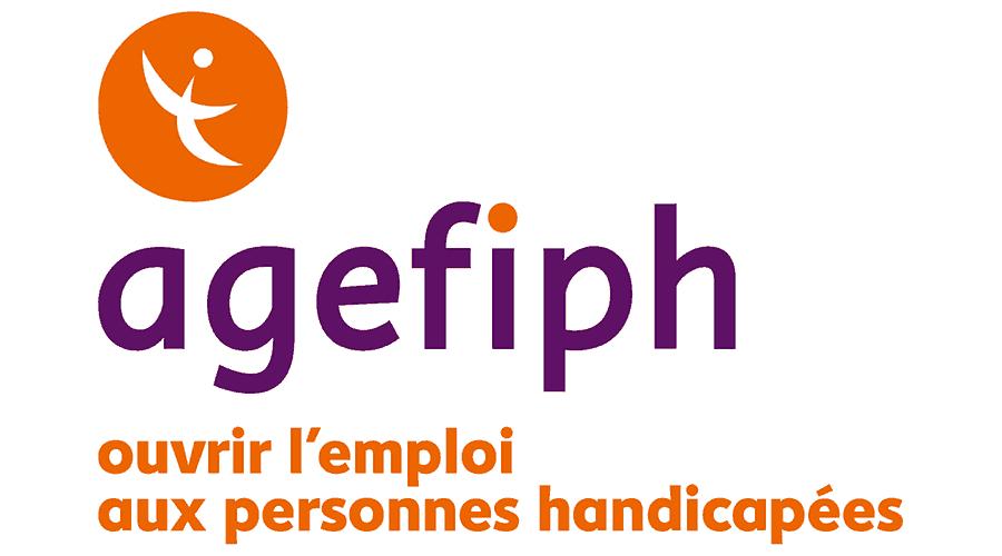 Agefiph, ouvrir l'emploi aux personnes handicapée Logo Vector
