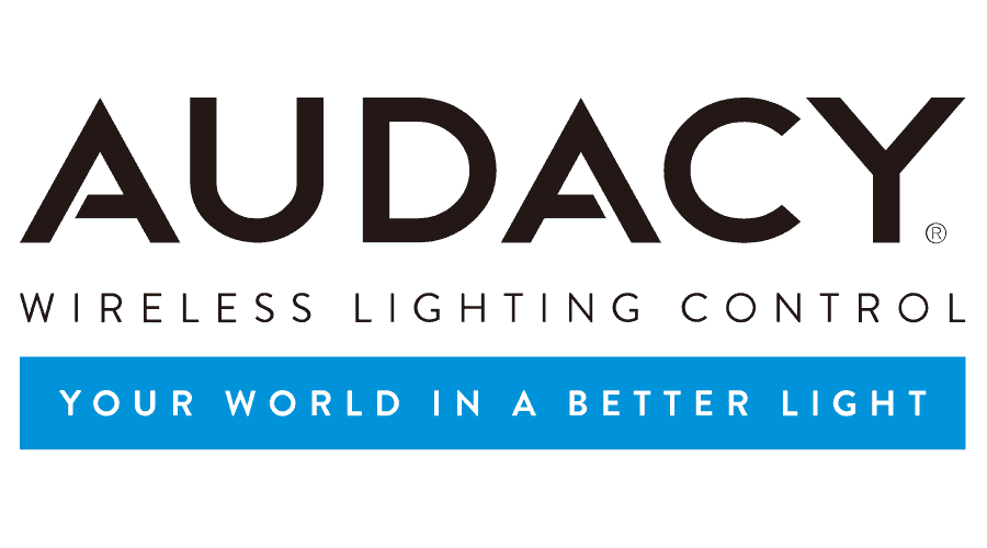Audacy Wireless Lighting Control Logo Vector