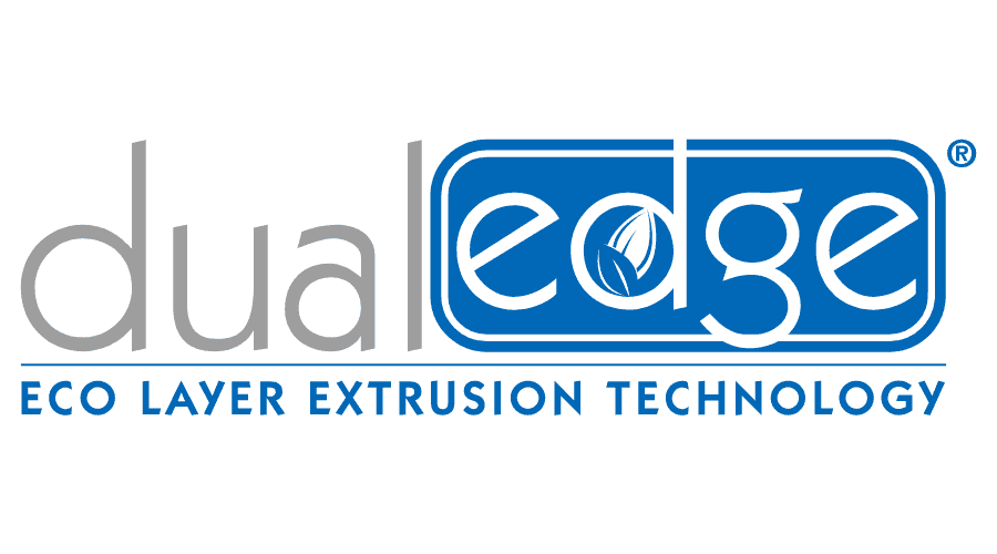 DualEdge ECO Layer Extrusion Technology Logo Vector