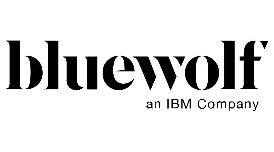Bluewolf, an IBM Company Logo Vector