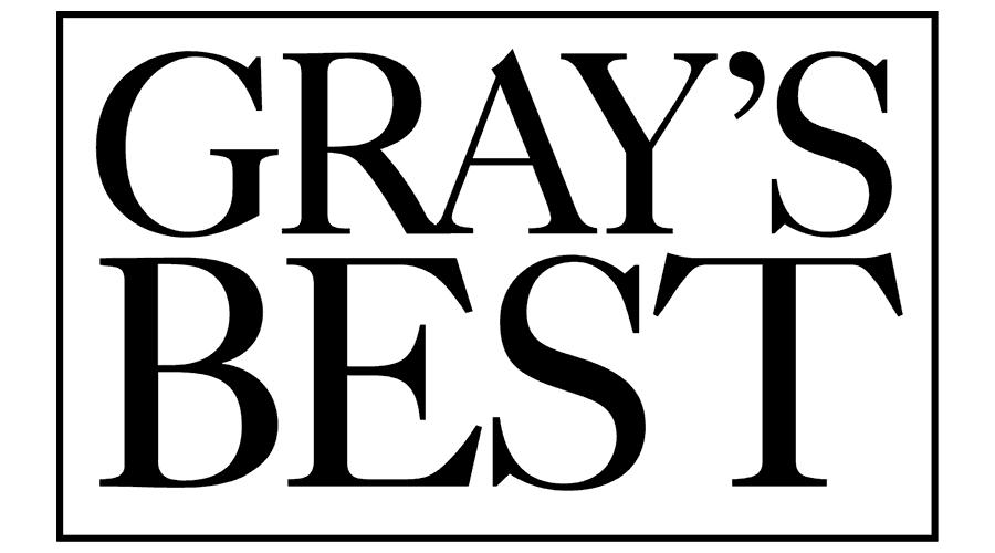 Gray's Best Logo Vector