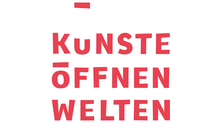 Künste öffnen Welten Logo Vector