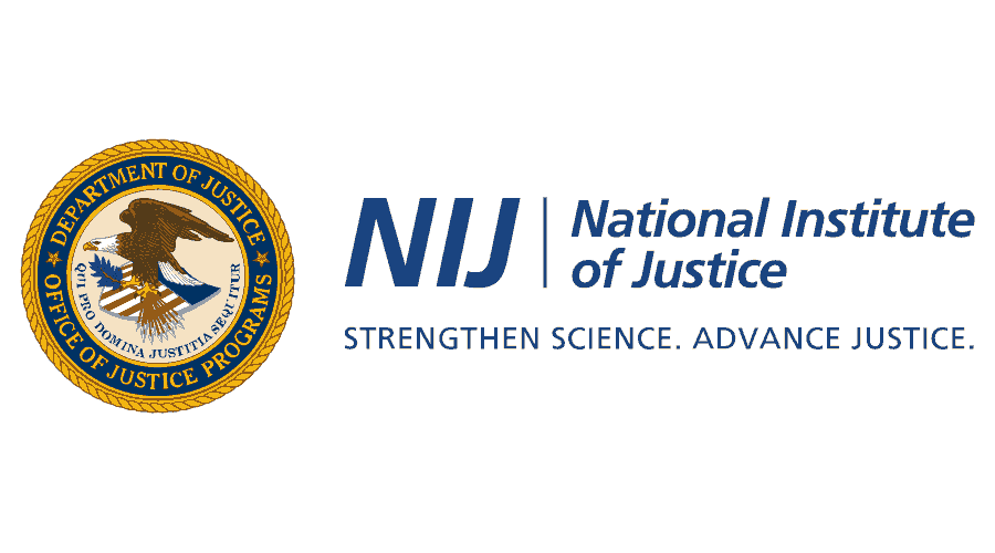 National Institute of Justice (NIJ) of the U.S. Department of Justice Logo Vector