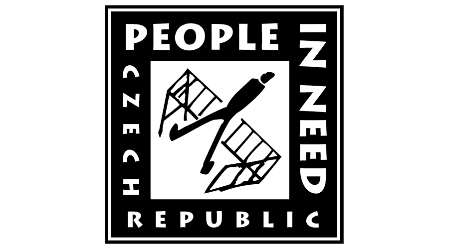 People in Need Czech Republic Logo Vector
