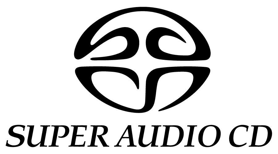 Super Audio CD Logo Vector