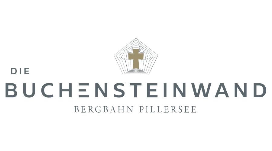 Die Buchensteinwand Bergbahn Pillersee Logo Vector
