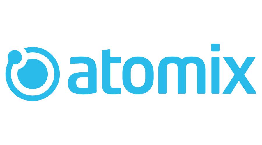 atomix web and creative studio Logo Vector