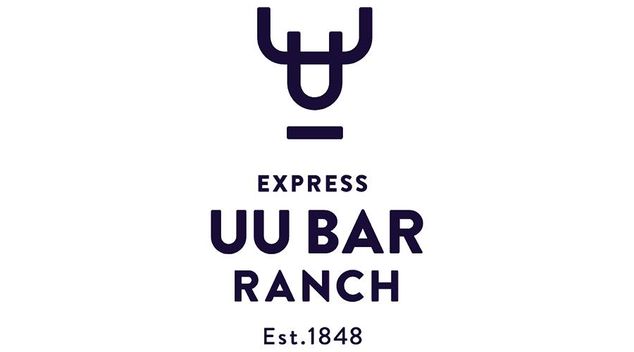 Express UU Bar Ranch Logo Vector
