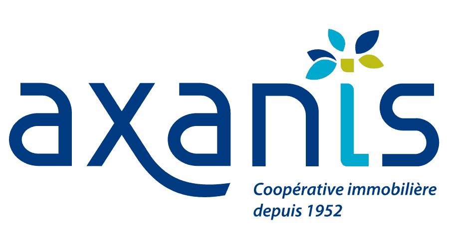 Axanis, coopérative immobilière depuis 1952 Logo Vector