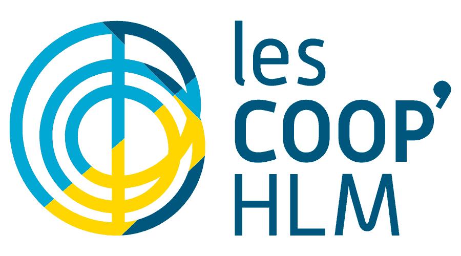 Les COOP' HLM Logo Vector
