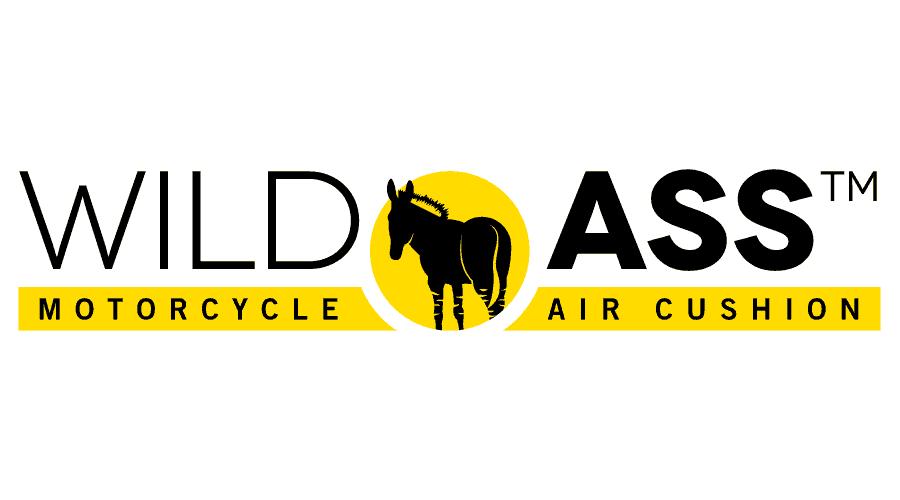 Wild Ass Motorcycle Air Cushion Logo Vector