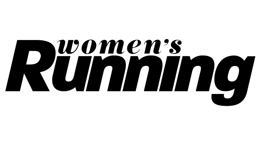 Women's Running Magazine Logo Vector