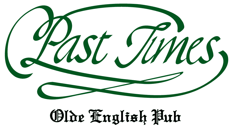 Past Times – Old English Pub Logo Vector