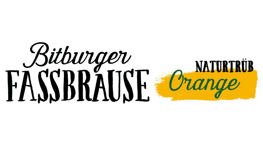Bitburger Fassbrause naturtrüb Orange Logo Vector