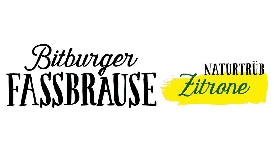 Bitburger Fassbrause Naturtrüb Zitrone Logo Vector