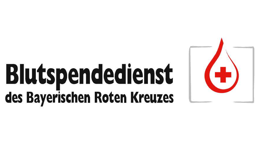 Blutspendedienst des Bayerischen Roten Kreuzes gemeinnützige GmbH Logo Vector