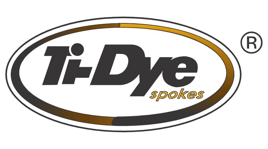 Ti-Dye Spoke Logo Vector