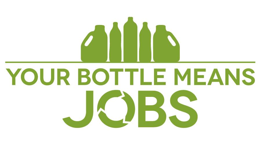 Your Bottle Means Jobs Logo Vector
